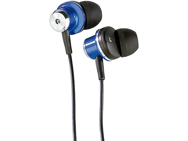 ; In-Ear-Stereo-Headsets mit Bluetooth