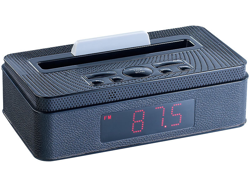 auvisio radio mps mit bluetooth wecker mp3 player. Black Bedroom Furniture Sets. Home Design Ideas