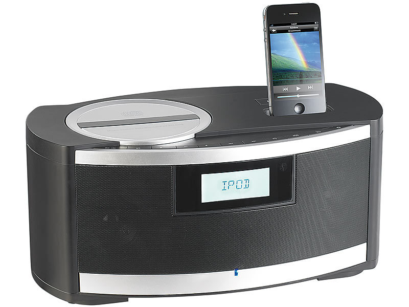 Audio-docks & Mini-lautsprecher Deluxe Musikstation F Iphone Und Ipod Dockingstation Moderne Techniken
