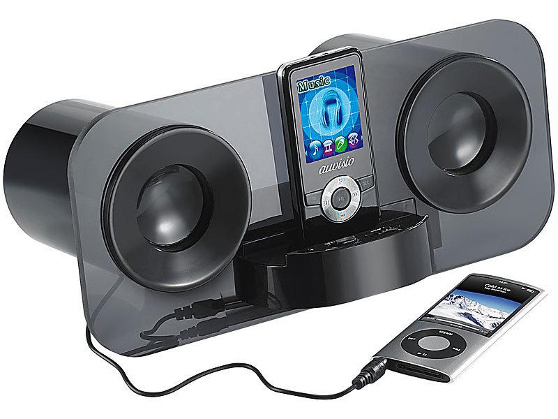 auvisio Stereo Lautsprecher MSS-222 für Smartphone