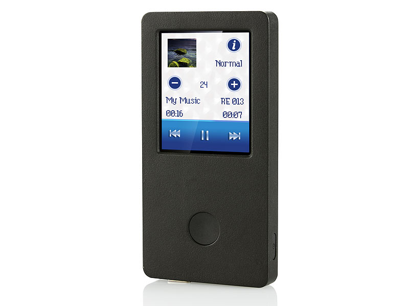 auvisio mp3 video player dmp mit 1 8 touchscreen. Black Bedroom Furniture Sets. Home Design Ideas