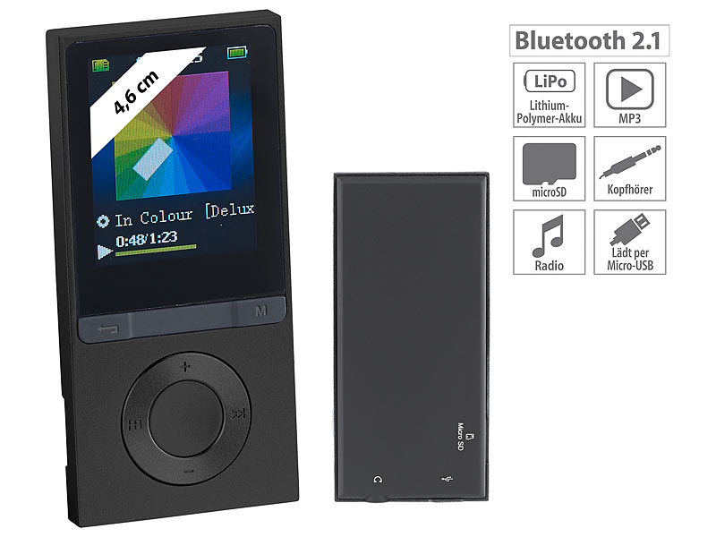 auvisio mp3 player v3 mit ukw radio e book reader. Black Bedroom Furniture Sets. Home Design Ideas