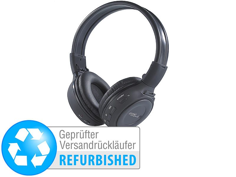 ; Over-Ear-Headsets mit Bluetooth, MP3-Player & Radio, Kabelloses In-Ear-Stereo-Headsets mit Bluetooth und Lade-Etuis Over-Ear-Headsets mit Bluetooth, MP3-Player & Radio, Kabelloses In-Ear-Stereo-Headsets mit Bluetooth und Lade-Etuis