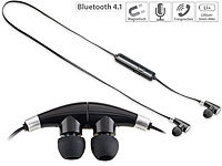 auvisio In-Ear-Stereo-Headset mit Magnet, Bluetooth 4.1