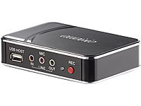 "auvisio HDMI-Video-Rekorder ""Game Capture V2"", Full HD, H.264-Videokompression; HD-Sat-Receiver HD-Sat-Receiver HD-Sat-Receiver HD-Sat-Receiver"