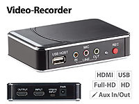 "auvisio HDMI-Video-Rekorder ""Game Capture V2"", Full HD, H.264-Videokompression"