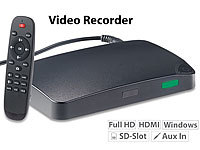 "auvisio HDMI-Video-Rekorder ""Game Capture V3"", Full HD, USB-/microSD-Aufnahme"