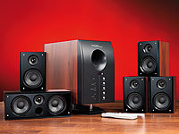 auvisio HOME-THEATER Surround-Sound-System 5.1 mit Fernbedienung