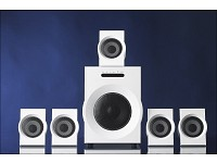 auvisio Aktives Design 5.1 Sound-System 'White Elegance'