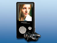 "auvisio Slim-MP3 & Video-Player 1GB ""MicroBeat"""