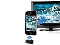 auvisio HDMI-Video-Adapter iPhone/iPad an LCD-TV/Beamer, Full HD