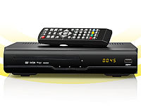 auvisio Digitaler 3in1 HD-Sat-Receiver DSR-290.DVD m. Aufnahmefunktion; Full-HD HDMI- & Game-Recorder Full-HD HDMI- & Game-Recorder Full-HD HDMI- & Game-Recorder