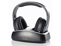 ; Over-Ear-Headsets mit Bluetooth, MP3-Player & Radio, Kabelloses In-Ear-Stereo-Headsets mit Bluetooth und Lade-Etuis