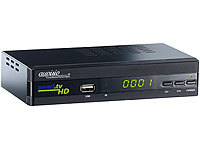 auvisio Digitaler pearl.tv HD-Sat-Receiver DSR-395U.SE, Full-HD-Player