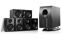 auvisio HOME-THEATER Surround-Sound-System 5.1 mit FB (refurbished)