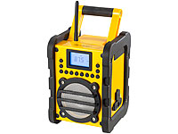 ; FM-Transmitter & Freisprecher mit MP3-Player & USB-Ladeports, Mobile Party-Audioanlagen mit Karaoke-Funktionen
