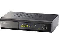 auvisio Digitaler pearl.tv DVB-C2-Kabelreceiver DCR-100.fhd, Full-HD