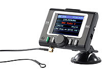 auvisio Bluetooth-Freisprecher FMX-570.ds mit DAB+ FM-Transmitter