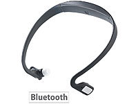 auvisio Kabelloses Sport-Headset BN-930.bt mit Bluetooth, MP3 & Radio