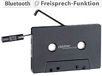 auvisio Kassetten-Musik-Adapter mit Bluetooth 2.1 & Freisprech-Funktion
