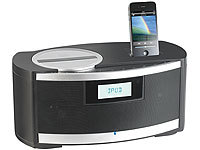 "auvisio 2.1-Hifi-Sound-Dock ""HSD-560"" für iPod & iPhone, CD & Radio"
