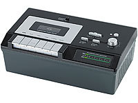 "auvisio USB-Kassettenrecorder ""UCR-2200 deluxe""  (refurbished); Full-HD HDMI- & Game-Recorder"