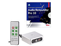 auvisio Autarker Audio-Digitalisierer mit Software Audio Restaurator Pro 8; USB-Kassettenrecorder USB-Kassettenrecorder USB-Kassettenrecorder