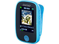 auvisio Clip-On-Multimedia-Player, 4,6-cm-Farb-Display, Bluetooth, Pedometer; MP3- & Video Player MP3- & Video Player MP3- & Video Player MP3- & Video Player