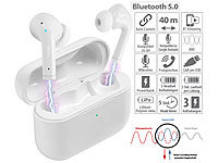 auvisio In-Ear-Stereo-Headset mit ANC und Powerbank-Ladebox, 20 Std. Spielzeit; In-Ear-Stereo-Headsets mit Bluetooth In-Ear-Stereo-Headsets mit Bluetooth In-Ear-Stereo-Headsets mit Bluetooth In-Ear-Stereo-Headsets mit Bluetooth