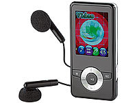 "auvisio MP3 & Video-Player ""DMP-320.m"" mit UKW-Radio; Over-Ear-Headsets mit Bluetooth, MP3-Player & Radio"