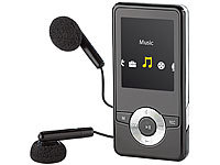 "auvisio MP3 & Video-Player ""DMP-320.m"" mit UKW-Radio; Over-Ear-Headsets mit Bluetooth, MP3-Player & Radio Over-Ear-Headsets mit Bluetooth, MP3-Player & Radio"