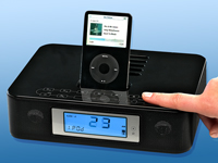 "auvisio TV-, Sound & Docking-Station 2.1 für iPod ""Sensor Control"""