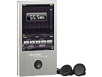 auvisio Touchscreen-MP3 & Video-Player 4GB silber; Over-Ear-Headsets mit Bluetooth, MP3-Player & Radio