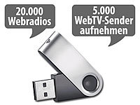 auvisio USB-Stick mit Mediaplayer für Internet-TV & -Radio