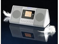 "auvisio MP3-Radiowecker ""Digital Alarm Station"" mit Record-Funktion"