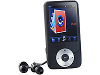 auvisio MP3-Player und Recorder mit Video-Player + 8 GB microSD