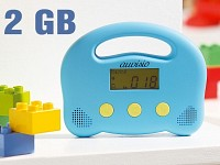 Kinder-MP3-Player 2GB + 6 Hörbuch-Kinderklassiker
