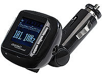 "auvisio FM-Transmitter mit Bluetooth-Freisprecher ""Talk 'n' Music"""