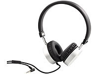 auvisio On-Ear-Stereo-Headset OHS-100, Aluminium