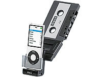 auvisio Kfz-Kassetten-MP3-Adapter ''iDeck'' für iPod & iPhone