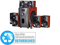 auvisio Home-Theater Surround-Sound-System 5.1, MP3, 80 W (Versandrückläufer)