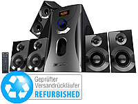 auvisio Home-Theater Surround-Sound-System 5.1,MP3,Radio, 80 W (refurbished)