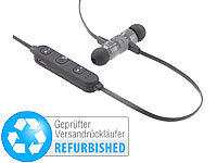 ; Kabelloses In-Ear-Stereo-Headsets mit Bluetooth und Lade-Etuis
