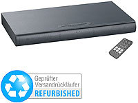 ; DVB-T2-Receiver, 5.1 Surround-Lautsprecher-Systeme