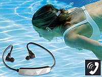 auvisio Wasserdichtes Sport-Headset mit Bluetooth 4.0, aptX (refurbished)