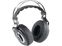 auvisio Over-Ear-HiFi-Headset OHS-420 mit Bluetooth 4.0 und Steuertasten