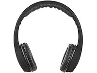 auvisio On-Ear-Headset , mit Mikrofon und 3 Bedientasten, Bluetooth 3.0