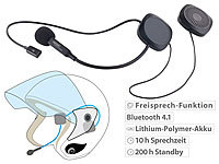 auvisio Stereo-Headset mit Bluetooth 4.1 & Freisprecher (refurbished)