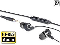 auvisio In-Ear-Stereo-Headset IHS-570 mit High-Resolution-Audio, 5 Hz  70 kHz
