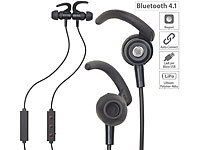 auvisio In-Ear-Stereo-Headset, magnetisch, Bluetooth, Multipoint, Auto-Connect